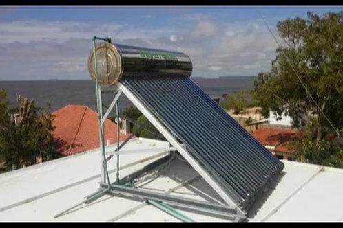 Calentador Solar 300 Lts Presurizado Ac. Inoxidable Heat Pipe