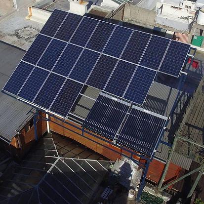 Proyecto Solar fotovoltaico y térmico.