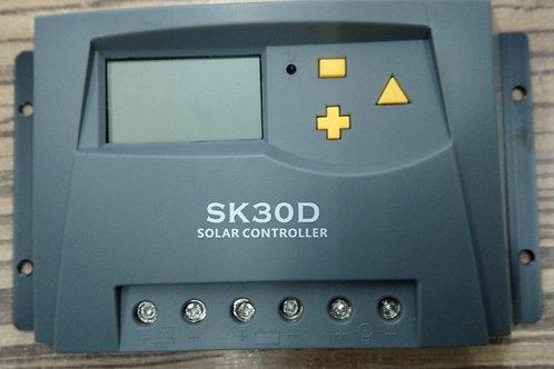 Regulador de Voltaje de 30amp 12/24v