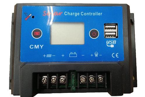 Regulador de Voltaje de 20 Amp Con Display Básico