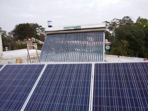 Calentador Solar 250 Lts Presurizado Ac. Inoxidable Tecnología Coil
