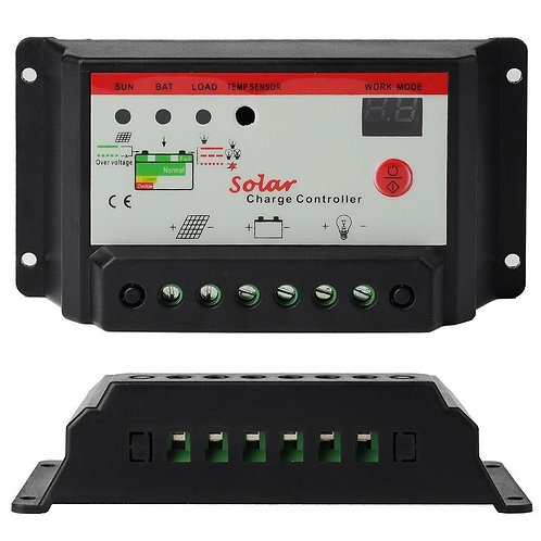 Regulador de voltaje 20Amp Básico 12/24v