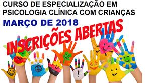 Curso de Especialização em Psicologia Clínica com Crianças