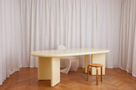 Chunky Table Pale Yellow