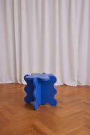 Curvy Table Mini Cobalt Blue