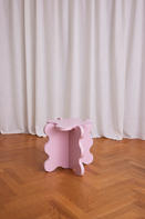 Curvy Table Mini Pink