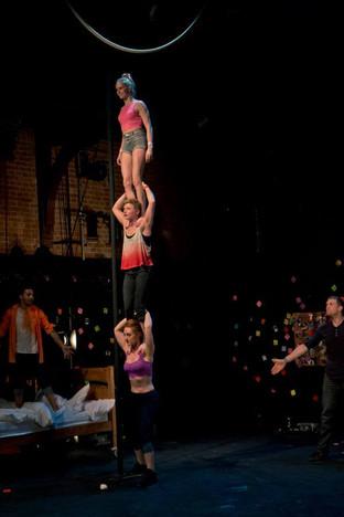 Lydia Harper Silver Lining Circus Throwback