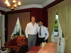 Hhenry with Gareth Cliff