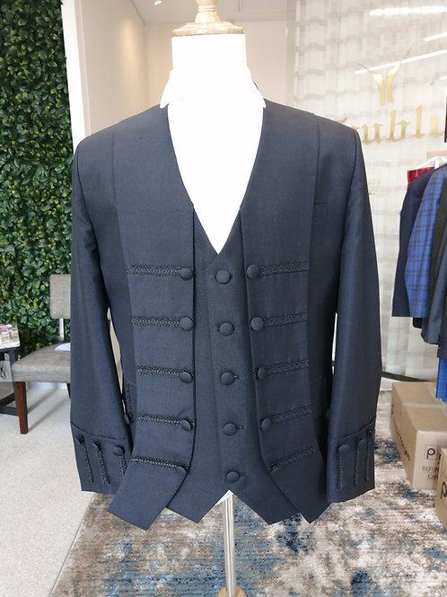 Senior Counsel Court Jacket with Flaps (Italian Silk)