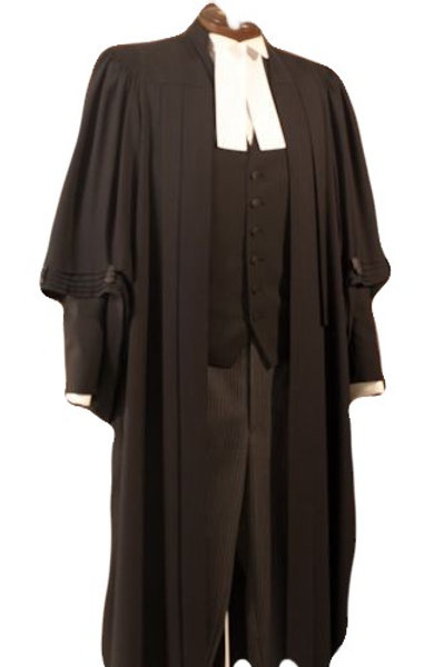 Junior Counsel Gown (Wool Blend)