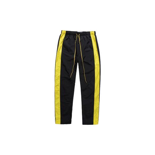 Black Yellow Track Pants