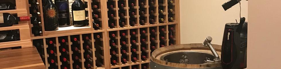 Wine cellar project