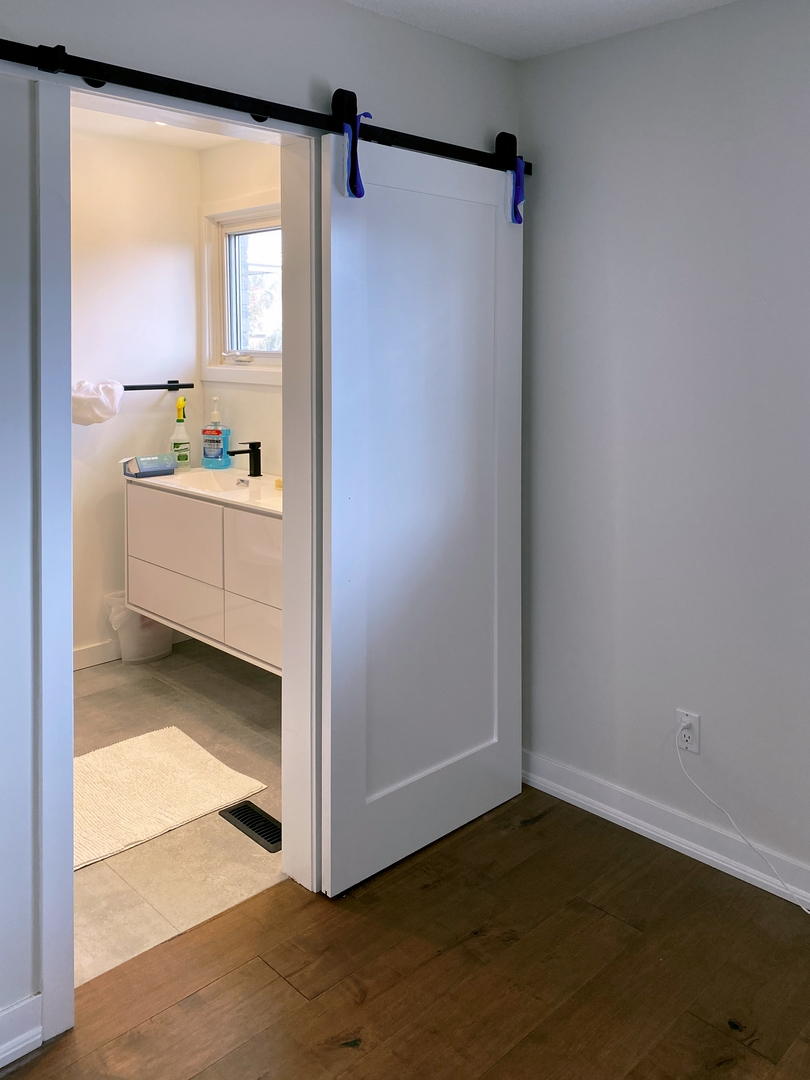 Bathroom Slide door