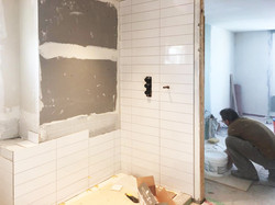 Bathroom Project in progress