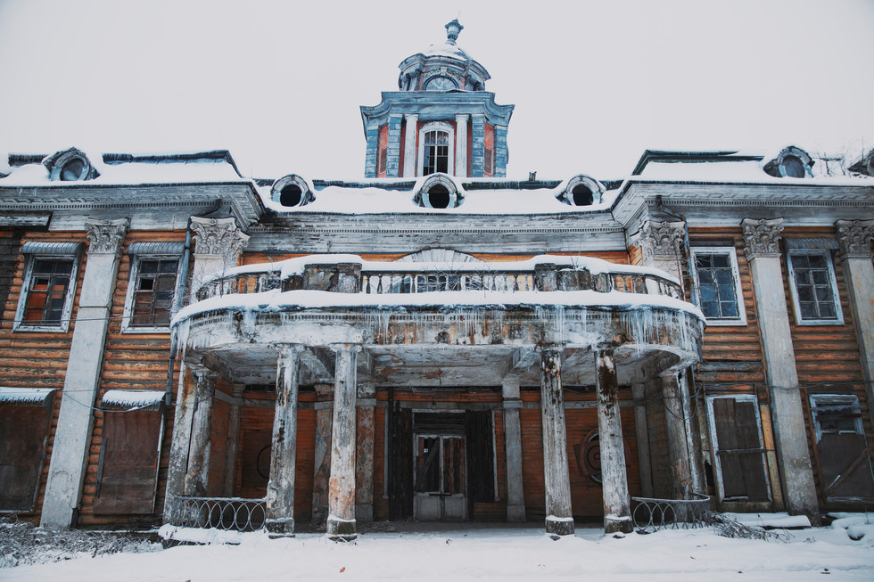 Exploring Ghost Heritage of Moscow Suburbs
