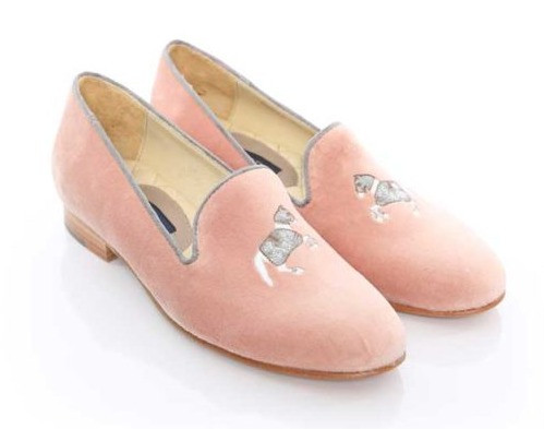 mimossa slippers in rose grey Ronner Design by Life Equestrian