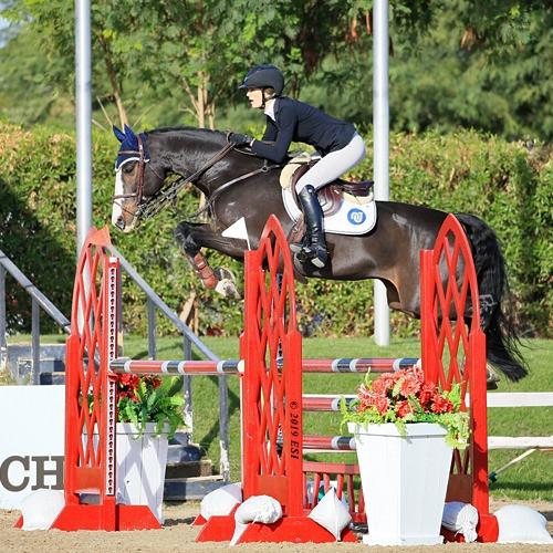 Aline Domaingo for Life Equestrian