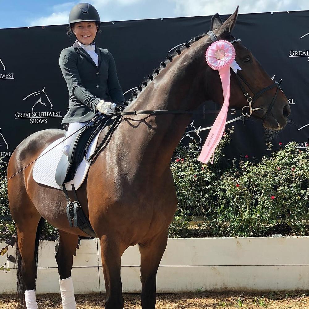 Alyssa Cleland Para-Dressage Rider Highlight for Life Equestrian