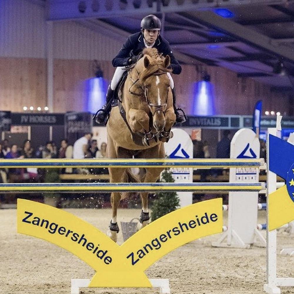 Cassio Rivetti Brazilian Olympic Showjumper Riding for Neil Jones