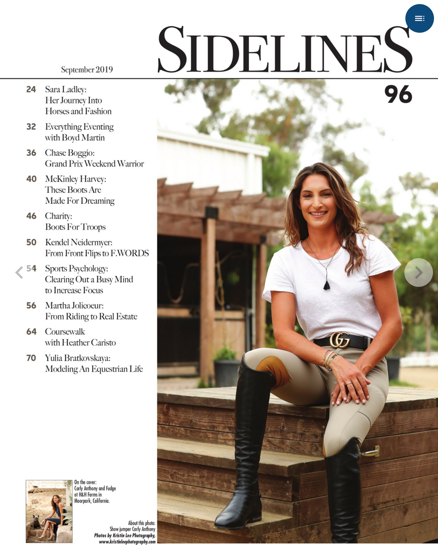 SIDELINES September 2019