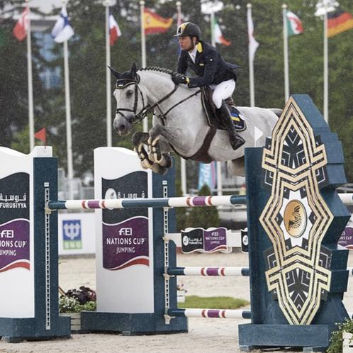 Olympian; Cassio Rivetti, riding for Neil Jones