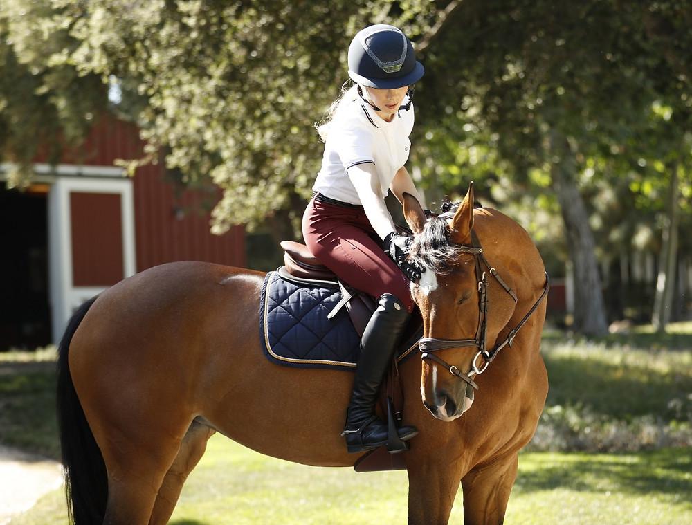 Hannah Selleck Monty Roberts Brooke USA Life Equestrian