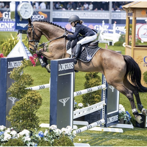 An inside look with Global Champions Tour's Youngest Rider