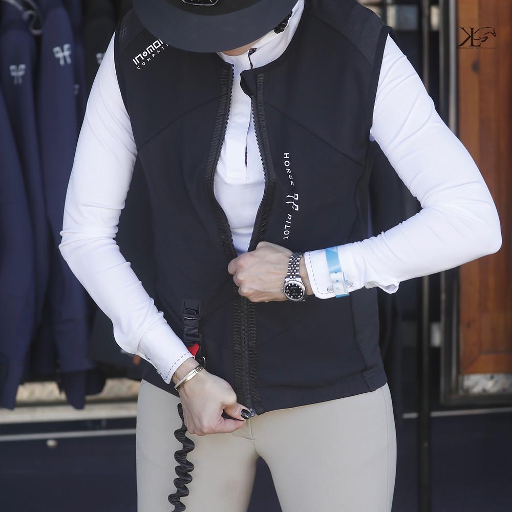 Horse Pilot Airbag Vest at Equ Lifestyle Boutique