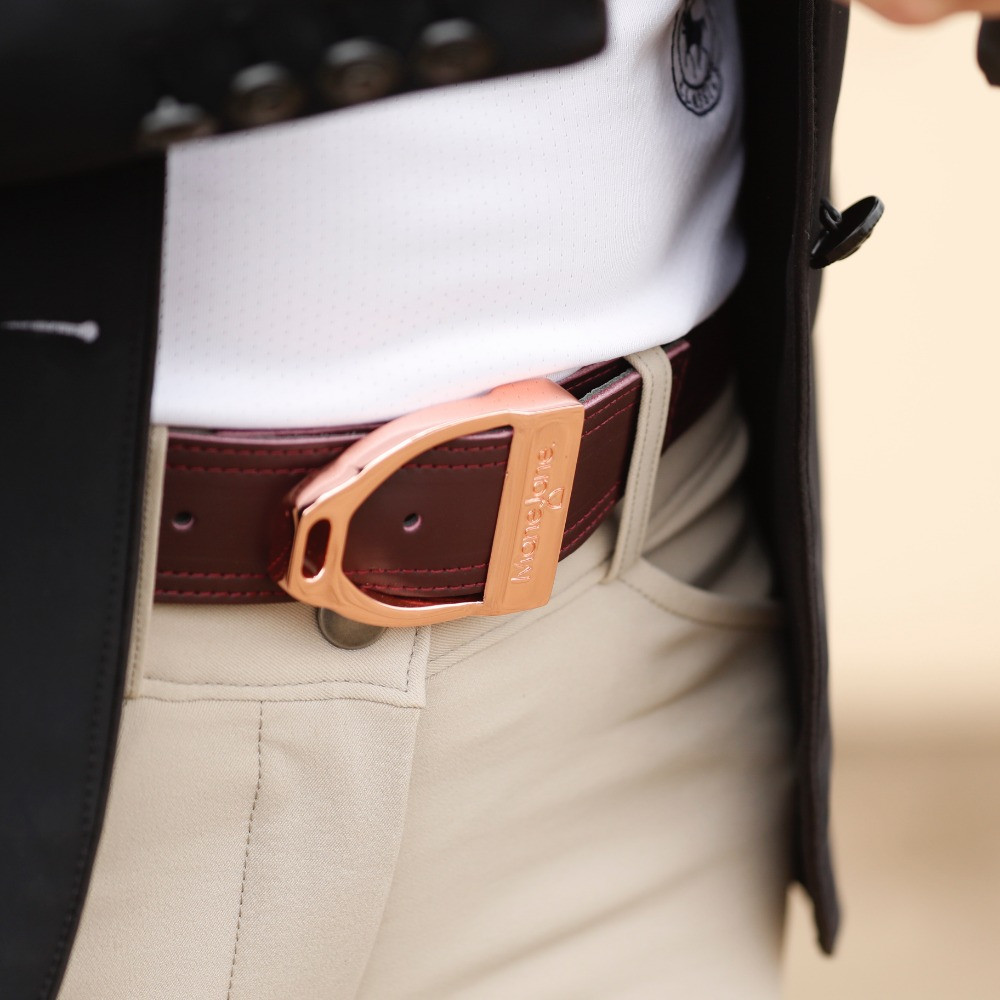 Mane Jane Belts | Rose Gold Belt Buckle | Life Equestrian Review