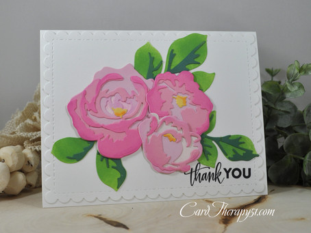 Jumbo Rose Garden Thank You