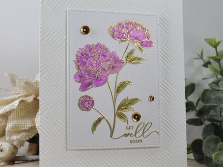 Peaceful Florals Get Well Soon