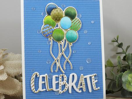 Blue and Green Balloon Bundle Celebrate