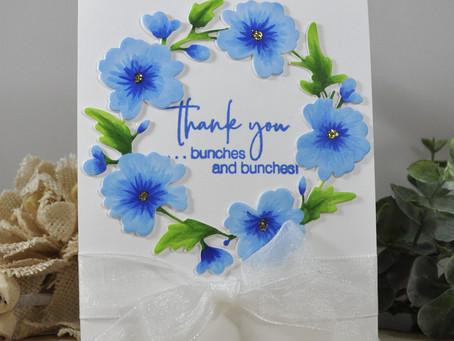 Bloomington Wreath Thank You