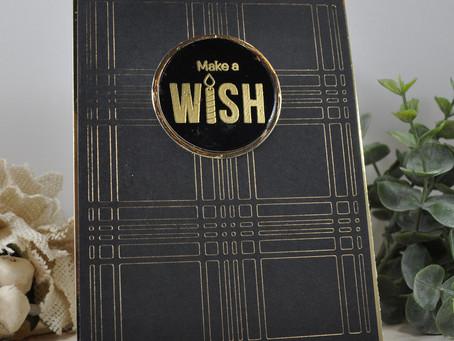 Black Plaid Make a Wish