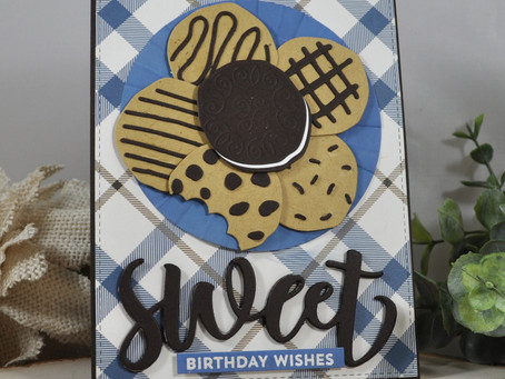 Sweet Birthday Wishes Plate of Cookies