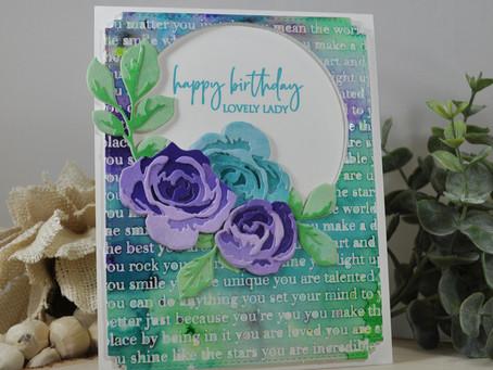 Garden Pick Happy Birthday Lovely Lady
