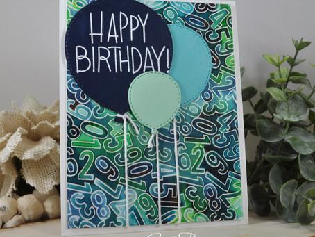 Happy Birthday Number It Balloons