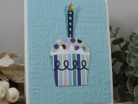 Party Cupcake Surprise Happy Happy Birthday