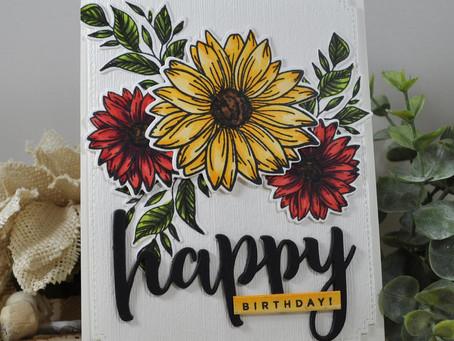 Bright and Cheerful Happy Birthday