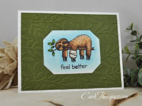 Feel Better Sloth