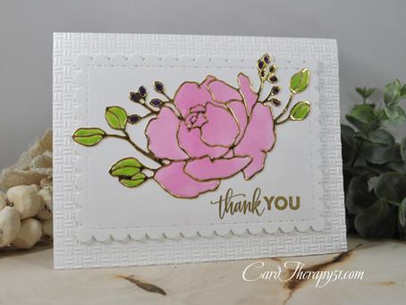Fine Bouquet Thank You