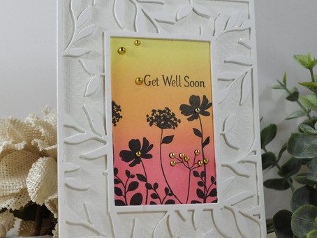 Get Well Soon Silhouette