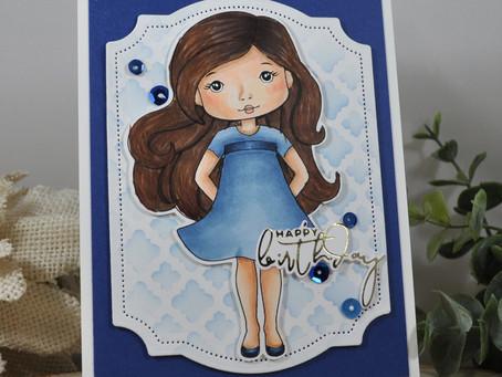 Moroccan Background Happy Birthday Ann