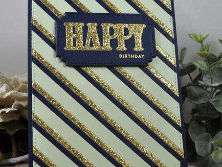 Paper Strips Happy Birthday