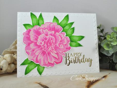 Foiled Happy Birthday