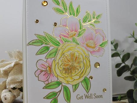 Delightful Blooms Get Well Soon II
