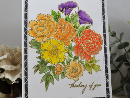 Stamptember Floral Bunch Thinking of You