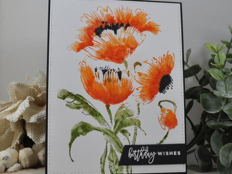 Poppy Birthday Wishes