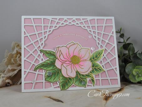 Magnolia Flower Have a Fantastic Birthday