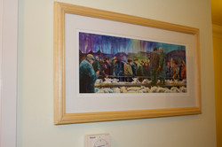 Unmounted print, now framed.